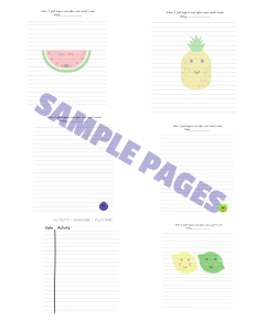 food_diary_sample_pages